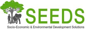 SEEDS logo white